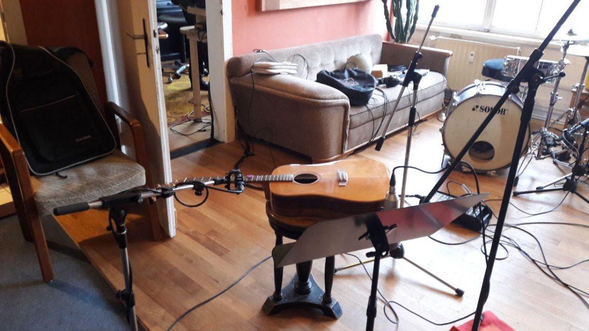 Studiotag 1: Rhythmusgruppe ✔